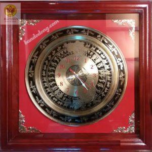 Đồng Hồ Đồng Treo Tường - QT5