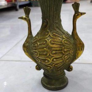 Lọ Hoa Khổng Tước 24cm x 12cm - ĐTC14