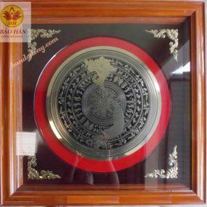 Tranh Đồng Mặt Trống Việt Nam - TRO6