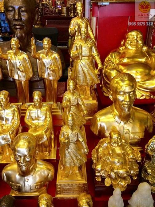 tượng đồng mạ vàng - TBĐ10