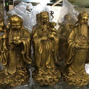 tượng tam đa bằng đồng cao 19cm